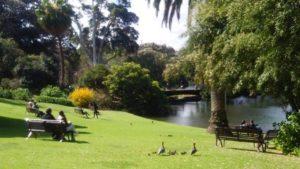 平和な休日 公園