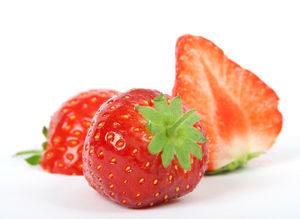 赤い色のフルーツ 苺