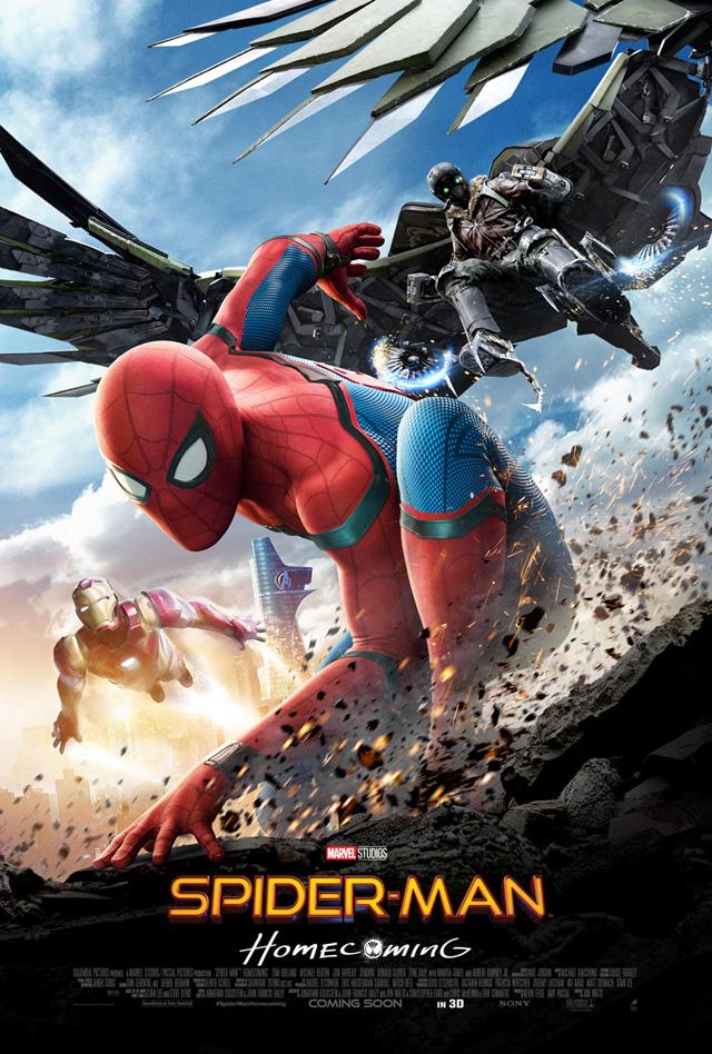 スパイダーマン ホームカミング MCU アベンジャーズインフィニティウォー シビルウォー キャプテンアメリカ
