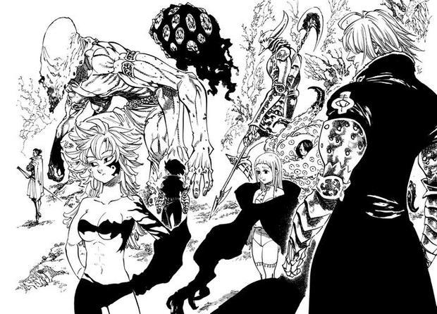 七つの大罪十戒編 キャラクター