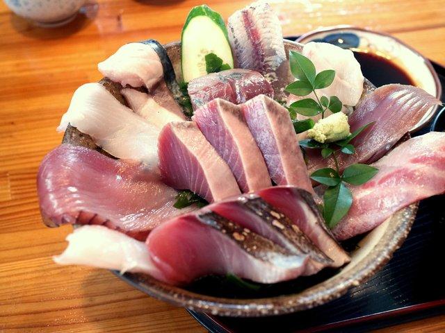 佐多街道 鹿児島県 大隅半島 観光スポット 旅 時海丼 刺身 海鮮丼