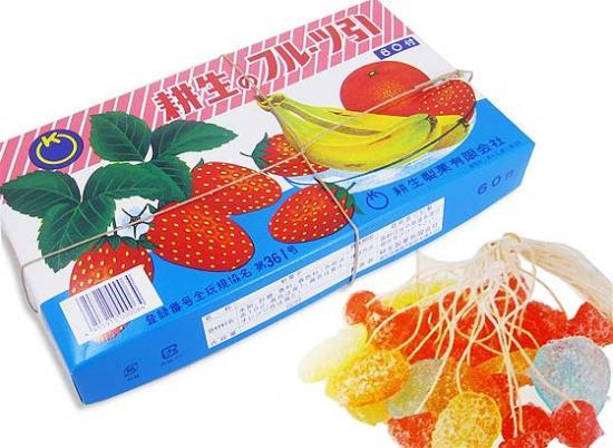 糸引き飴 フルーツ引き