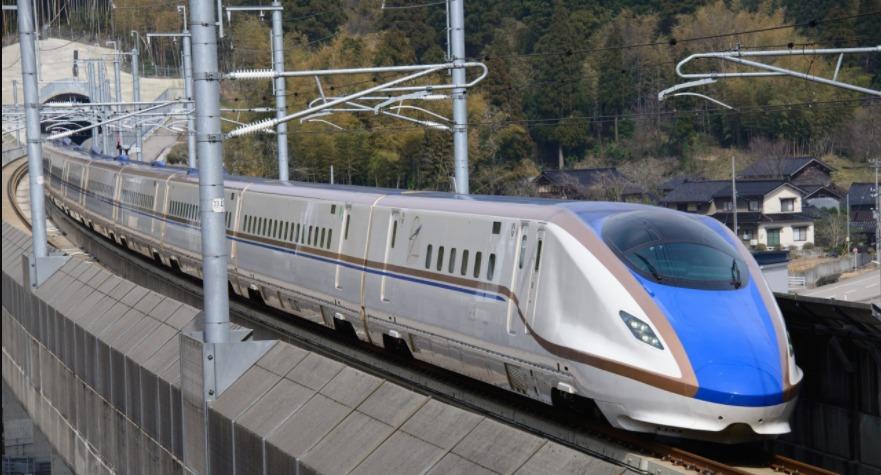 石川県 青柳 北陸新幹線