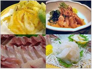 石川県 氷見市 民宿 青柳 お料理②