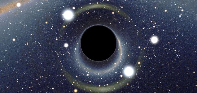 宇宙に存在するブラックホール